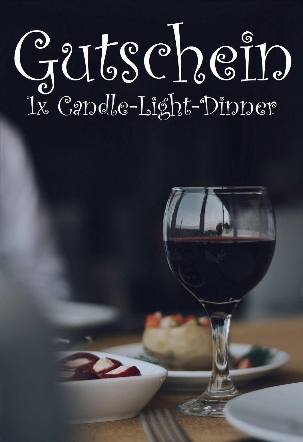 Candle Light Dinner Eine Kleine Auszeit Geniessen Gutscheinspruch De