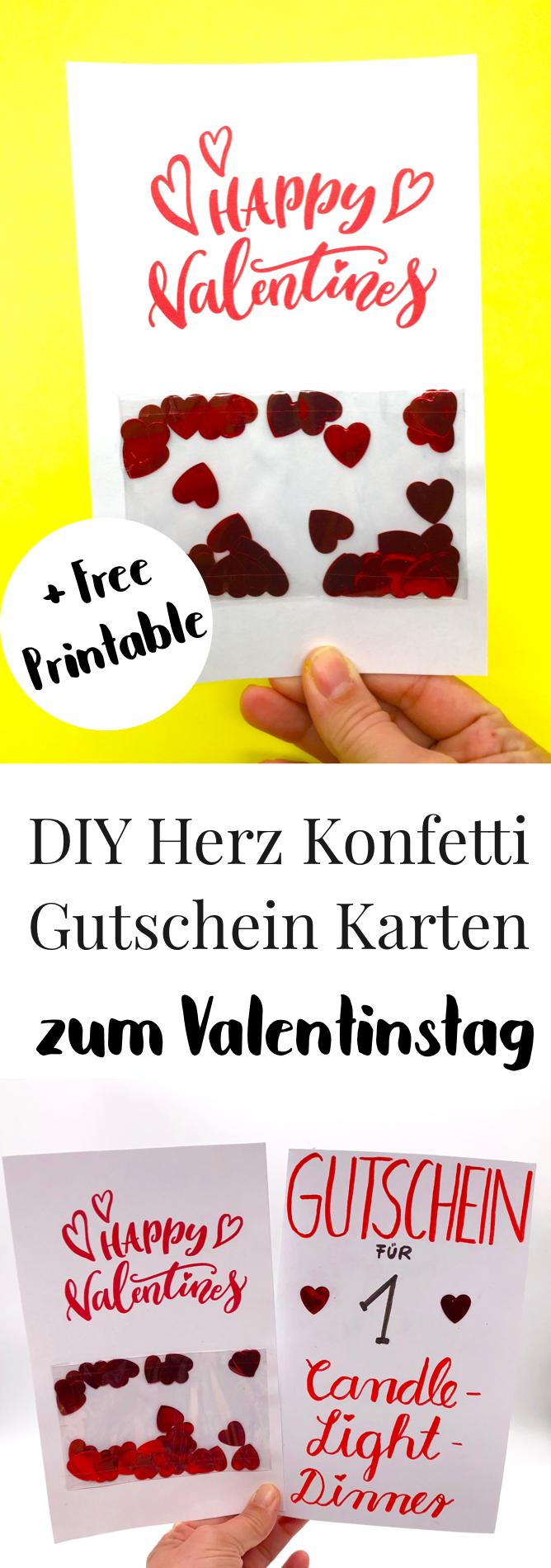 Karten Selbst Gestalten Valentinstag Karte Selber Machen Geschenke Valentinstag Valentinstag Karten