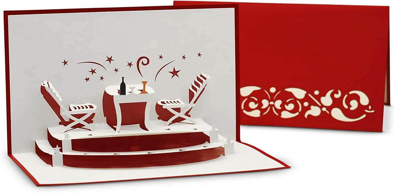 Einladungskarte Fur Restaurant Gutschein Essens Einladung 3d Pop Up Karte Als Klappkarte Gluckwunschkart Restaurant Gutschein Gutschein Essen Einladungen