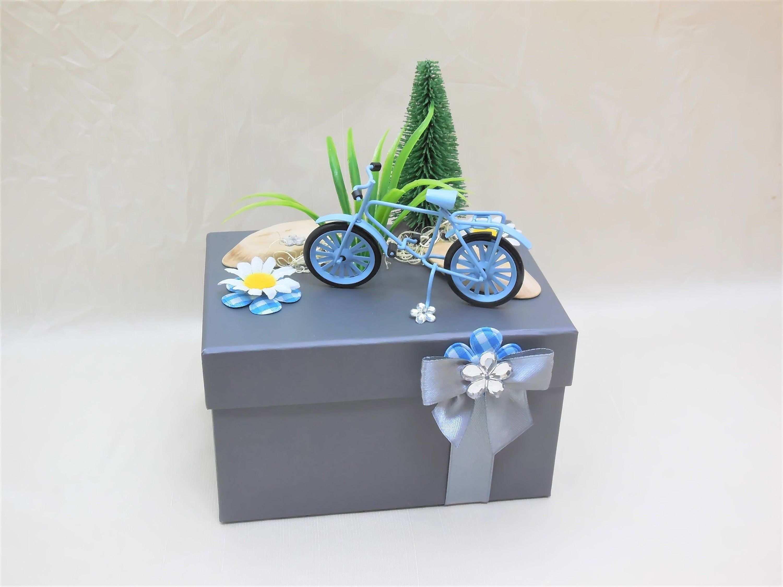 Geschenkbox Fahrrad Geldgeschenk Gutschein Fahrrad Etsy Handmade Decorative Boxes Box