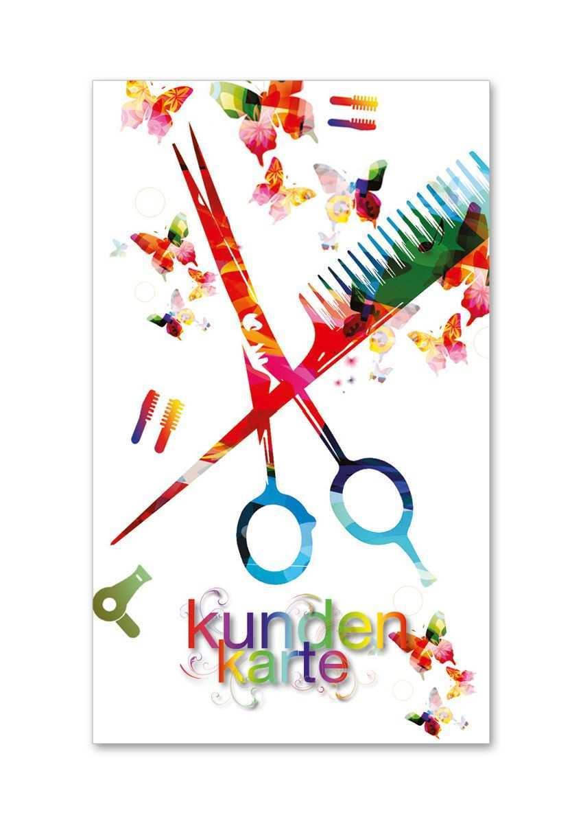 Kundenkarte Fur Friseure K517 Geschenkgutscheine Gutscheine Kundenkarte