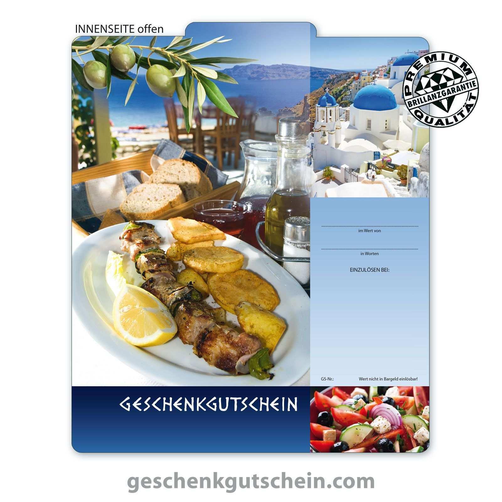 Gutscheinvorlage Fur Griechische Restaurant Griechen Greek Gutschein Fur Restaurant Essen Eatout Griechisches Restaurant Gutscheine Griechisches Essen