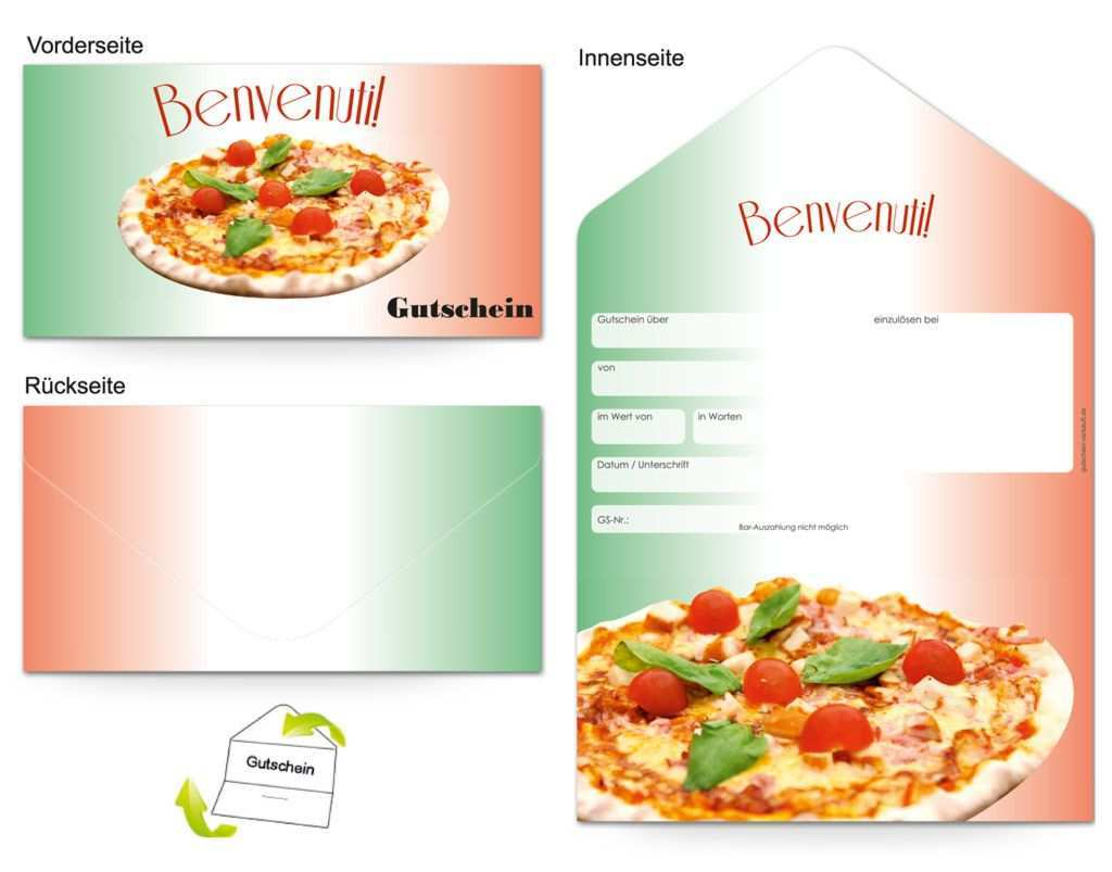 Motiv Pizzabacker Gutscheinvorlagen Gutscheine Gutschein Vorlage Geschenkgutscheine