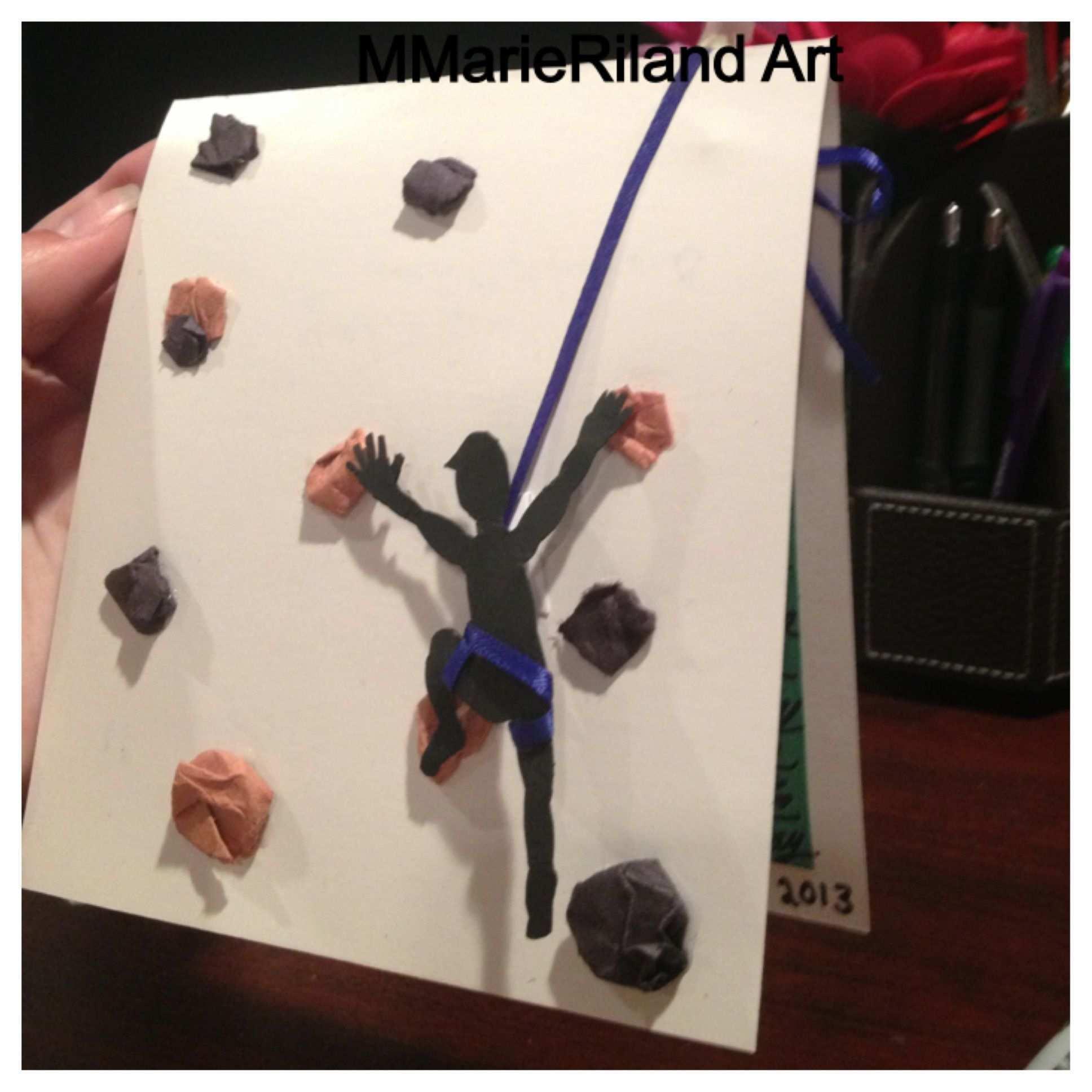 3d Rock Climbing Card I Made Einladung Kindergeburtstag Geburtstagseinladungen Geburtstagseinladungen Zum Ausdrucken