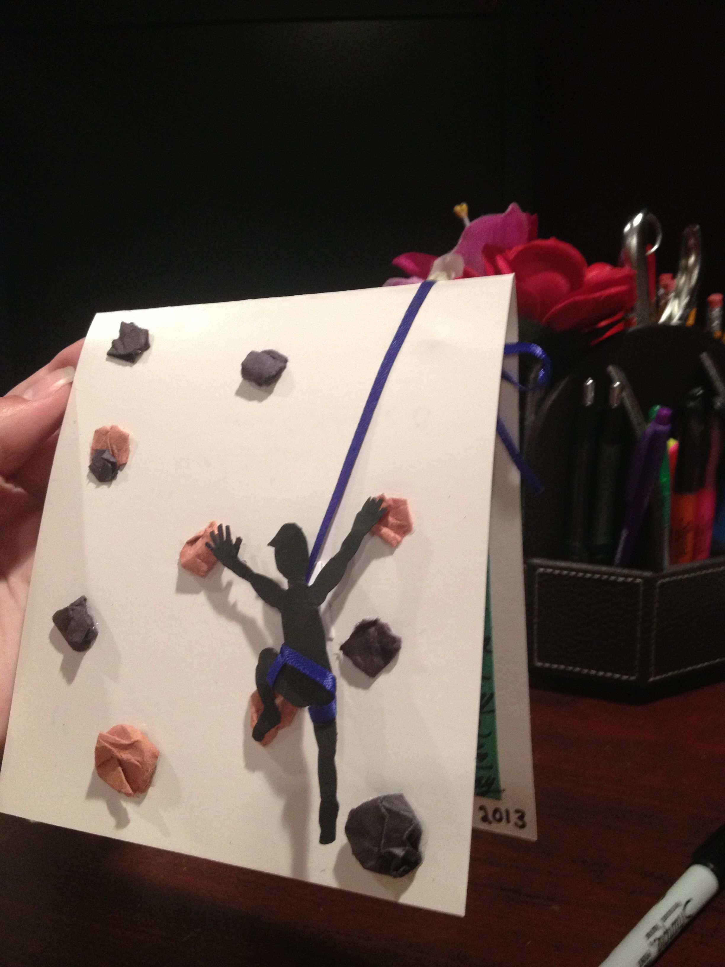 3d Rock Climber Birthday Card I Created Einladung Kindergeburtstag Geburtstagseinladungen Geburtstagseinladungen Zum Ausdrucken