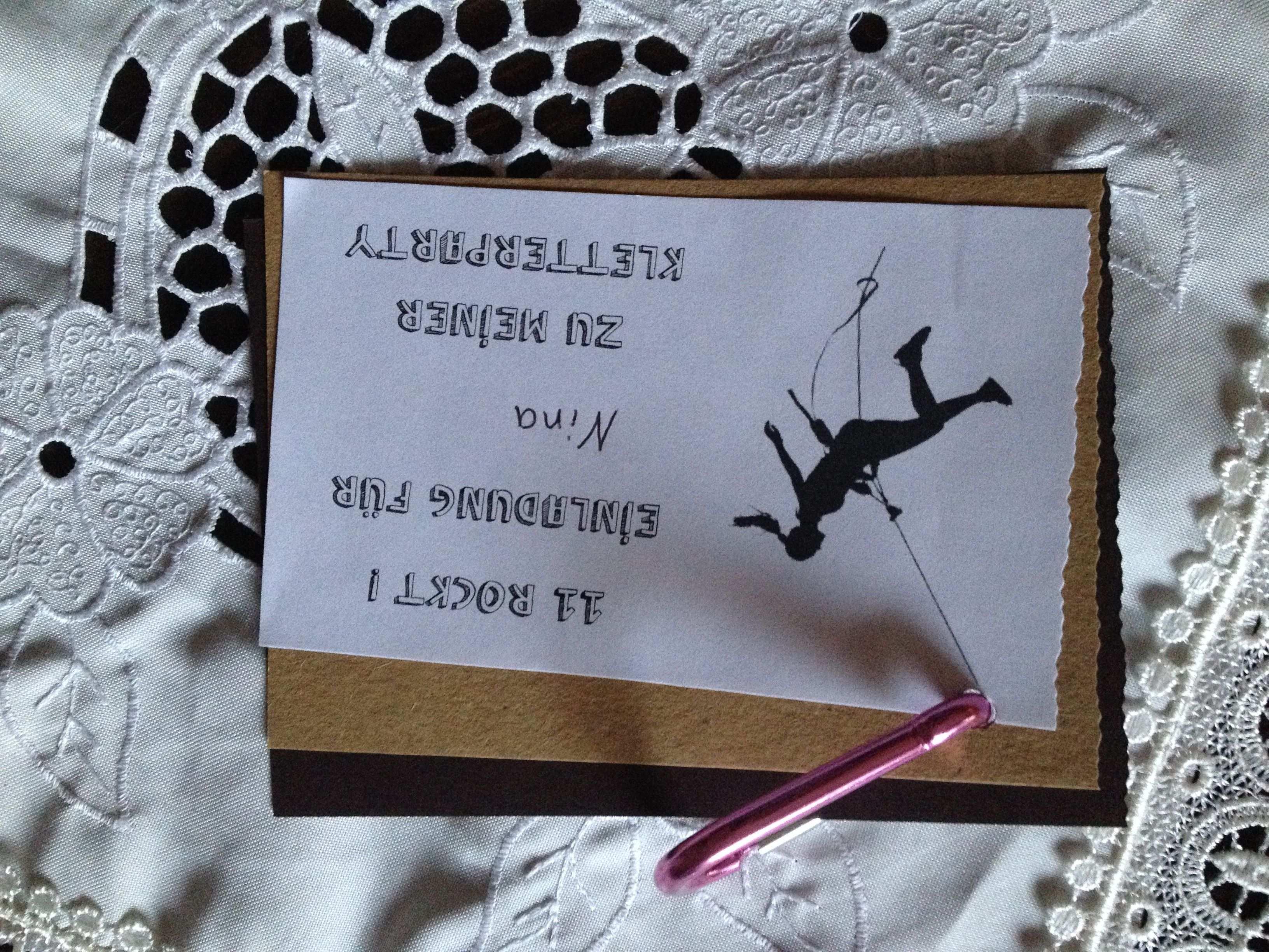 Einladung Zum Klettern Einladungskarten Kindergeburtstag Einladung Kindergeburtstag Kindergeburtstag