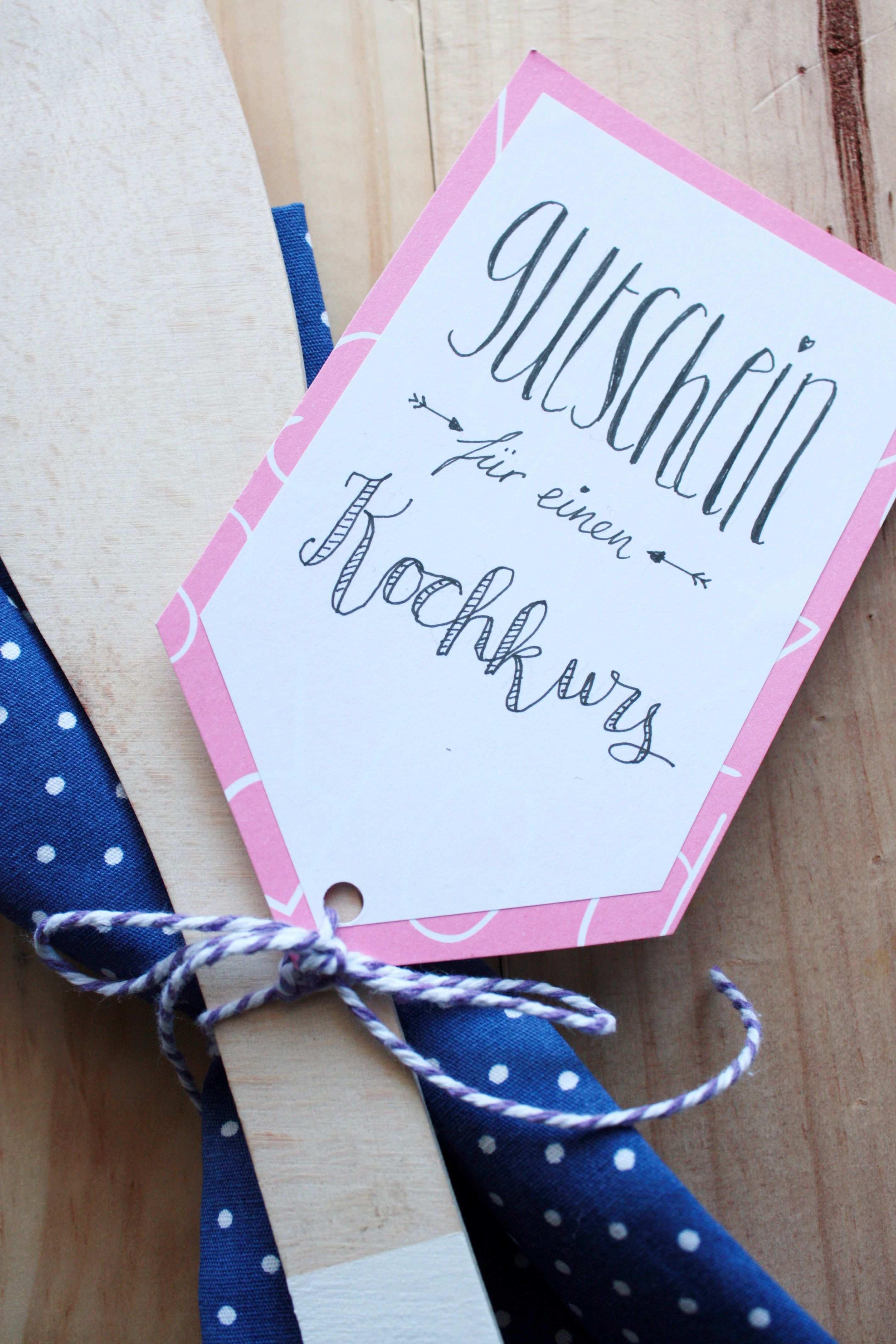 Gutscheine Verpacken Gutschein Fur Einen Kochkurs Selbst Gestalten Rosy Grey Gutschein Basteln Hochzeit Gutschein Gestalten Geburtstagskarte Diy