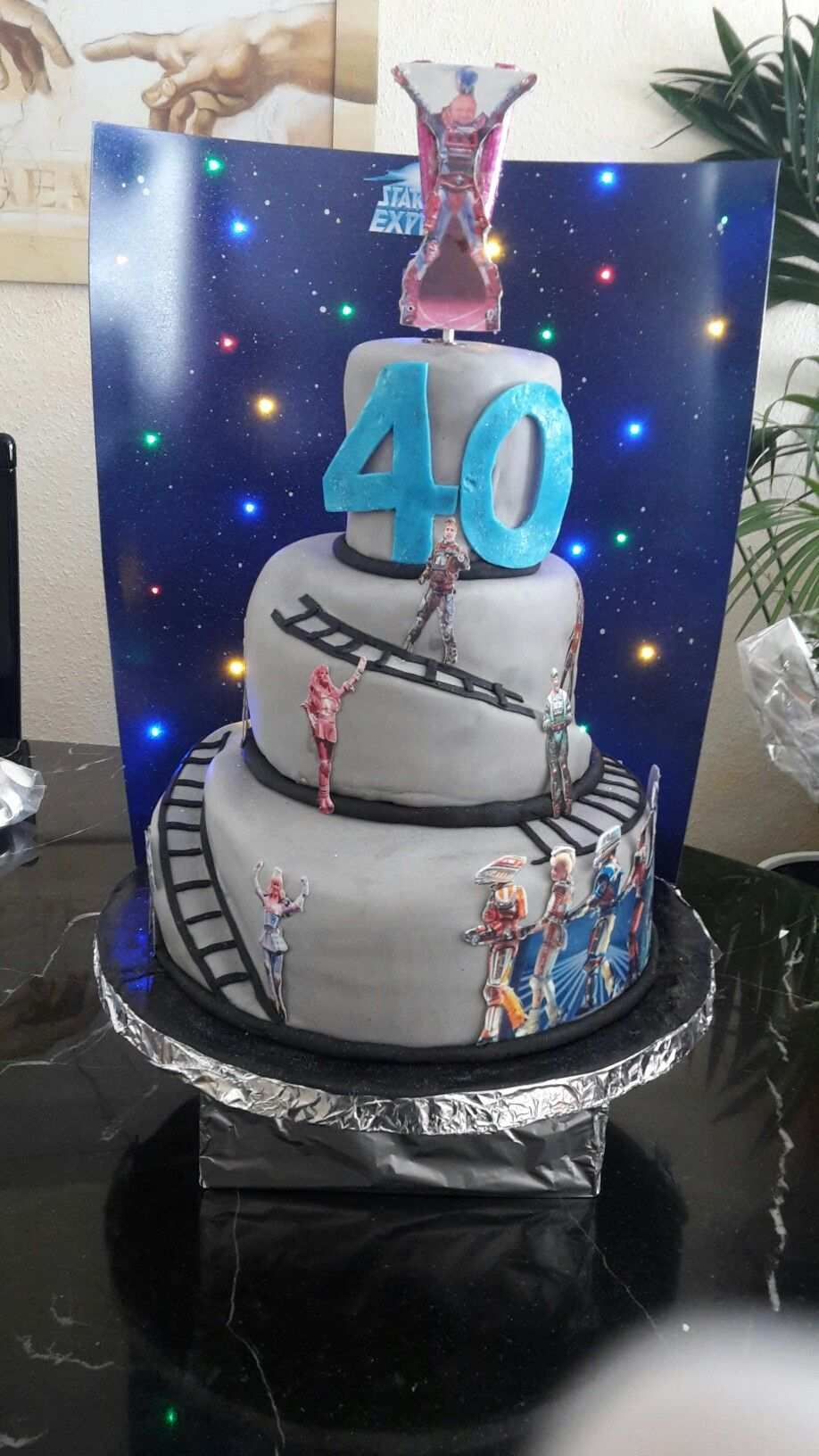 Starlight Express Torte Geburtstagstorte Geburtstagskuchen Backideen
