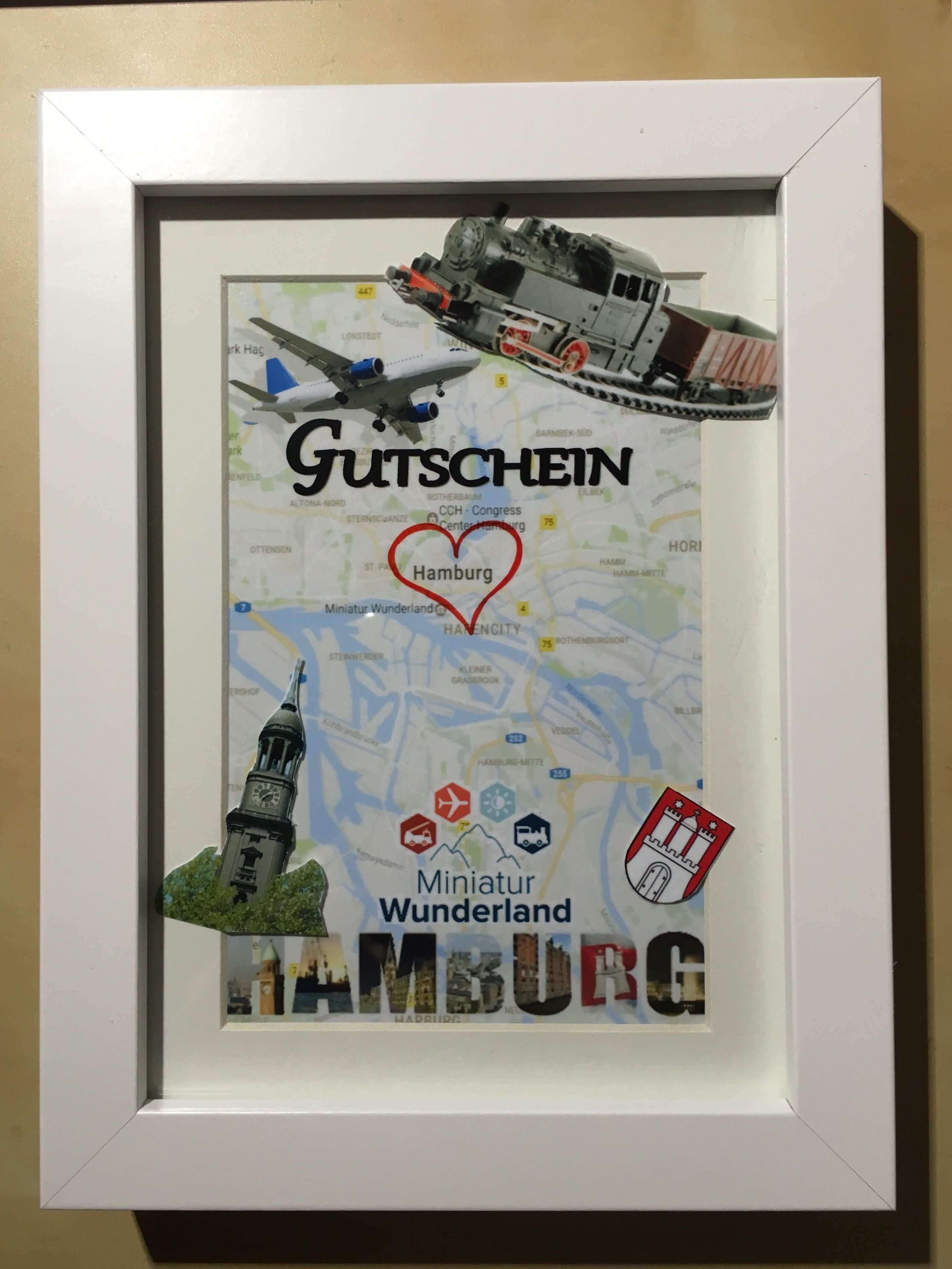 Gutschein Stadtetrip Hamburg Gutschein Basteln Reise Gutschein Basteln Gutschein Geburtstag