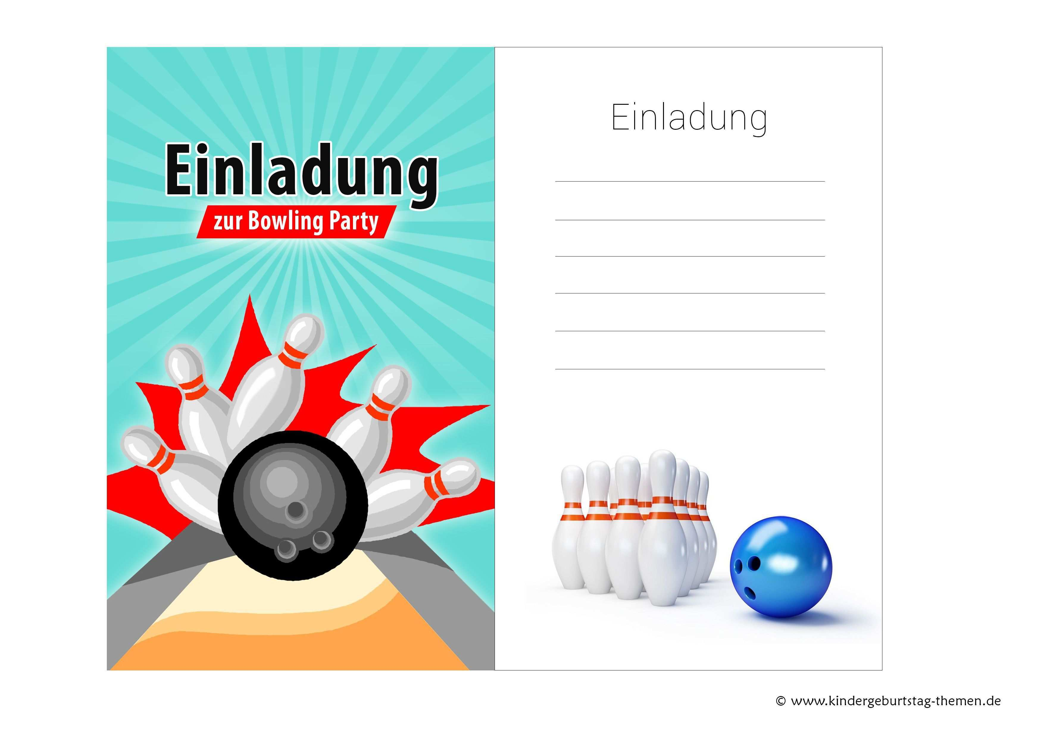 Einladung Kindergeburtstag Bowling Kegeln Kostenlose Vorlagen Der Einladungskarten Zum Ausdrucken Einladungskarten Geburtstag Kostenlos Einladungskarten Kindergeburtstag Einladungskarten Kindergeburtstag Kostenlos