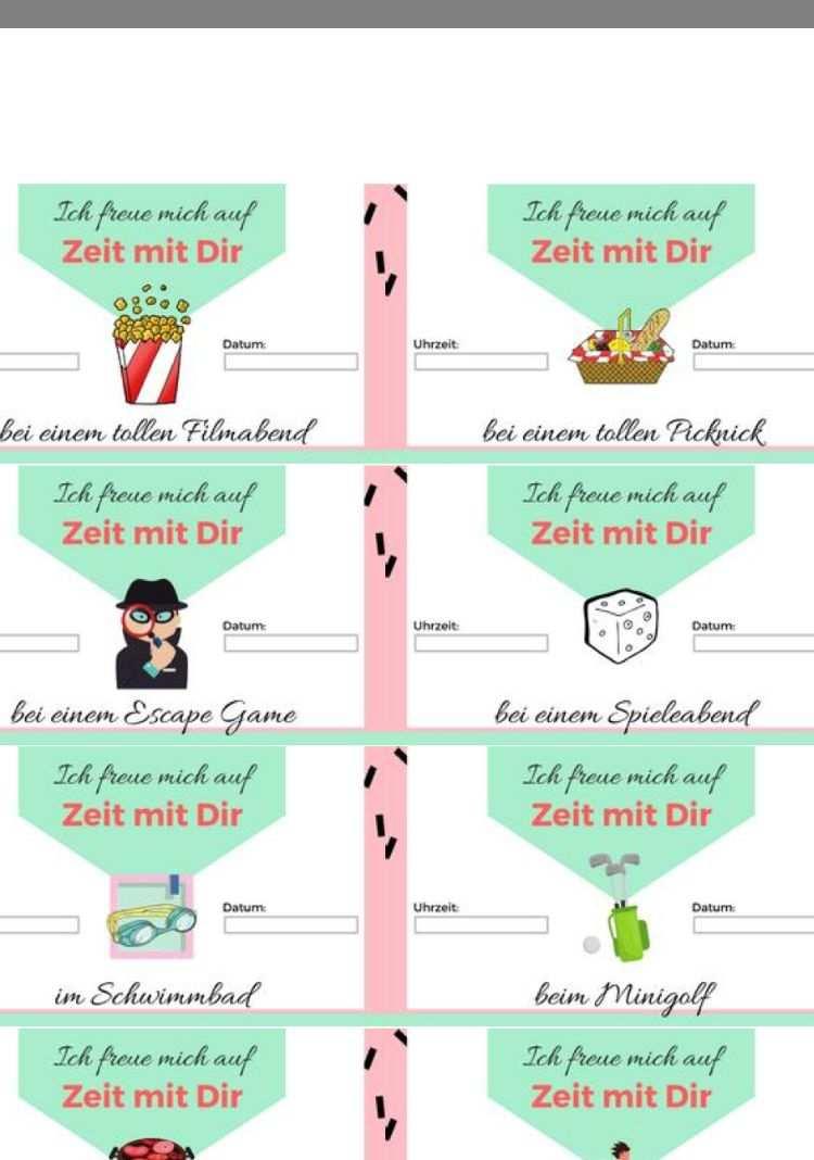 Pin Von Katja Rettig Auf Geburtstag Zeit Statt Zeug Kostenlose Vorlagen Zeitgeschenke