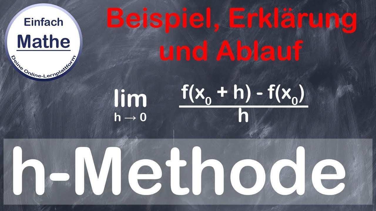 H Methode Beispiel Ablauf Und Erklarung By Einfach Mathe Youtube