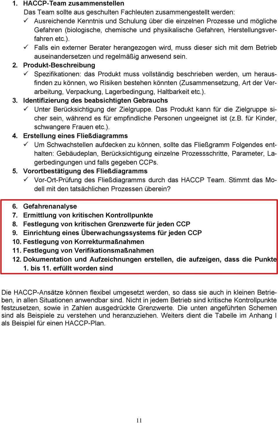 Hygieneplan Haccp Umsetzung Und Schulung Packstellen Pdf Free Download