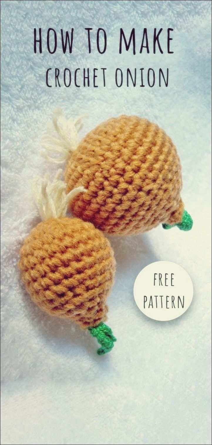 Hakeln Sie Zwiebel Frei Muster Free Knitting Obst Hakeln Lebensmittel Hakeln Kostenlose Hakelmuster