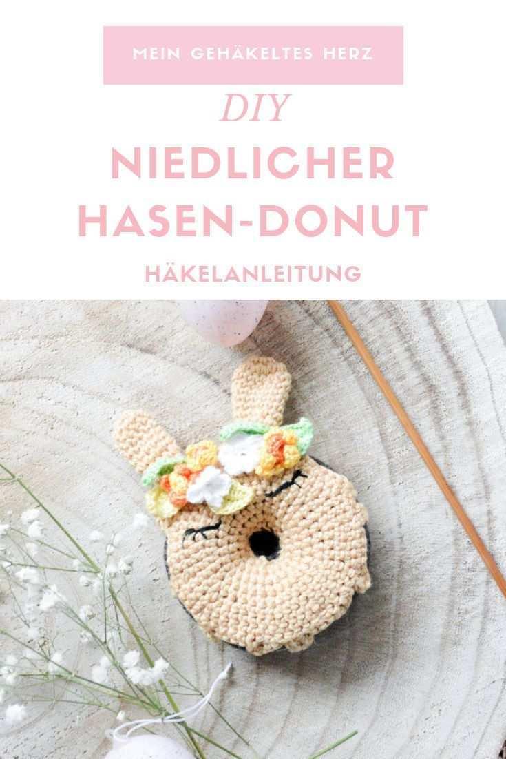 Oster Hasen Donut Amigurumi Geschenkideen Selber Machen Hakeln Ostern Ostern Osterhase