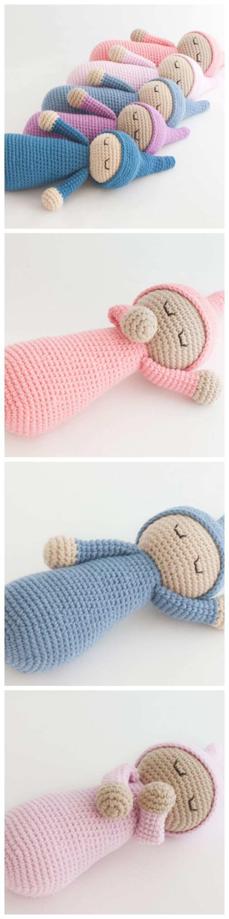 Hakeln Sie Sleepyhead Puppe Kostenlose Muster Hakelspielzeug Kostenlose Muster Hakeln Baby