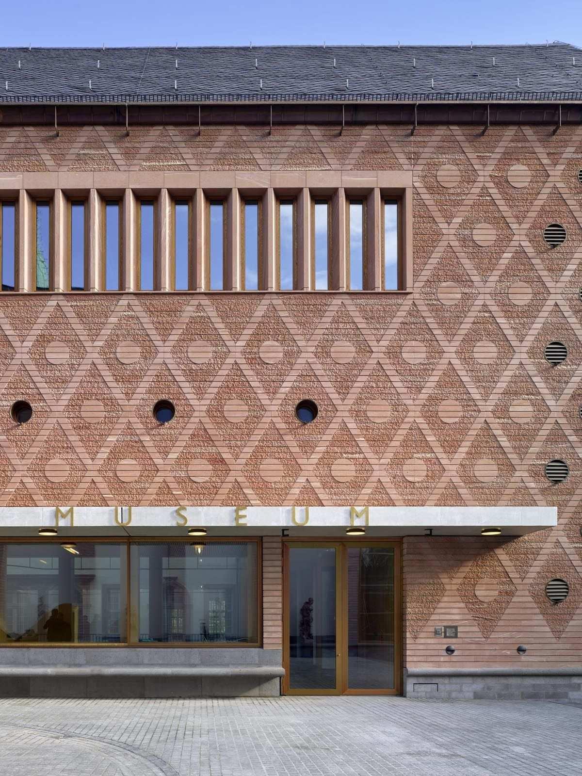 Neues Historisches Museum Frankfurt Von Lederer Ragnarsdottir Oei Stylepark Museum Frankfurt Moderne Architektur Architektur