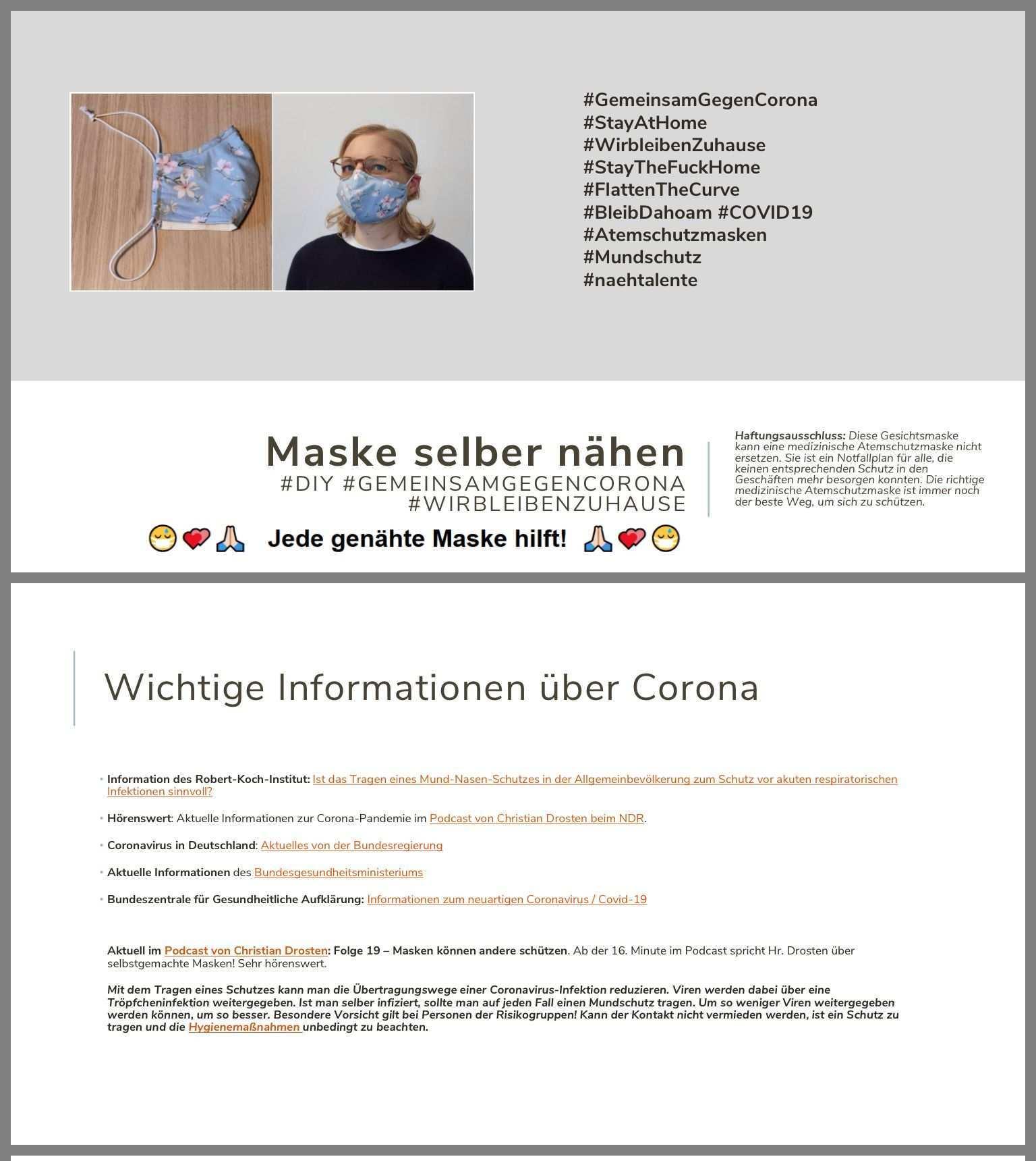 Pin Von Hildegard Buhmann Auf Kleinkram In 2020 Masken Gesichts Masken Gesichtsmaske