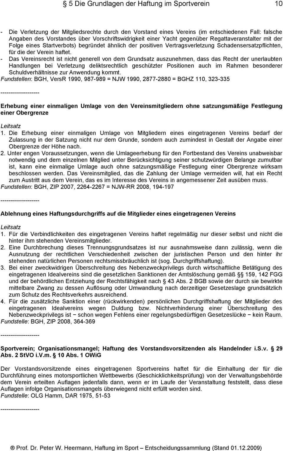 Haftung Im Sport Entscheidungssammlung Pdf Free Download