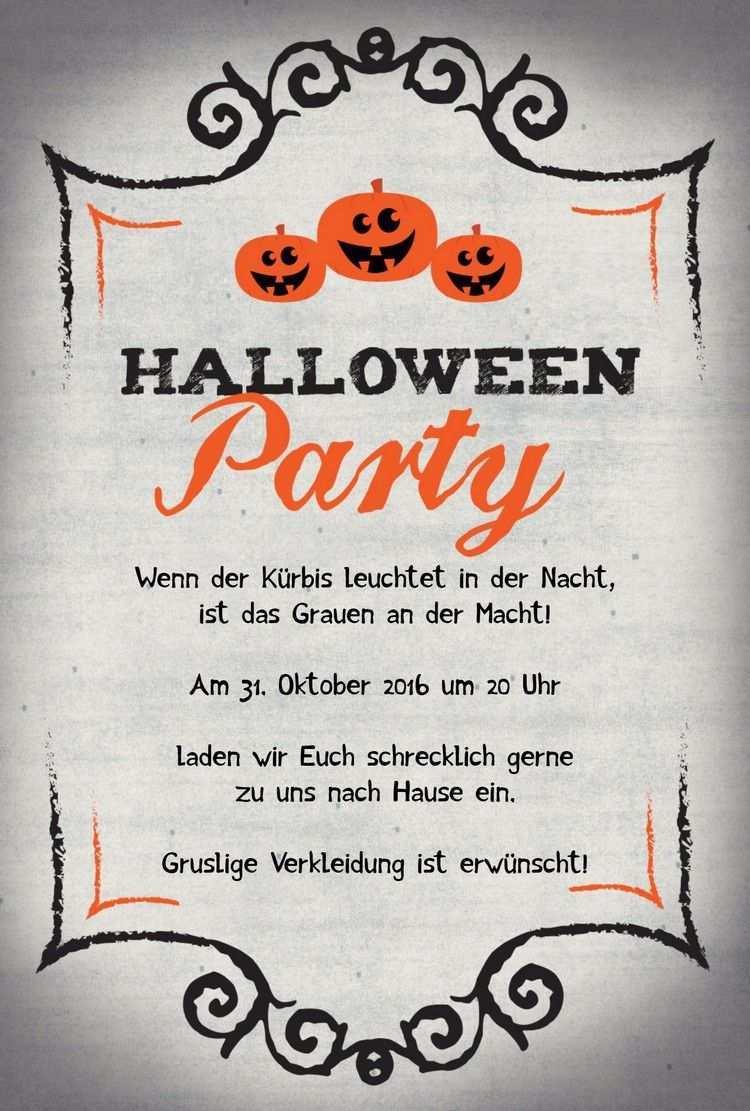 Halloween Einladung Einladungskarten Basteln Fur Eine Gruselparty Halloween Einladung Einladungskarten Kindergeburtstag Einladung Gestalten