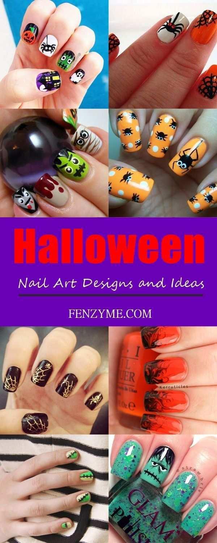 Art Designs Halloween Ideas Nail Http Funcapitol Com Halloween Nail Art Designs And Ideas Halloween Nageldesign Naildesign Nagellack Design