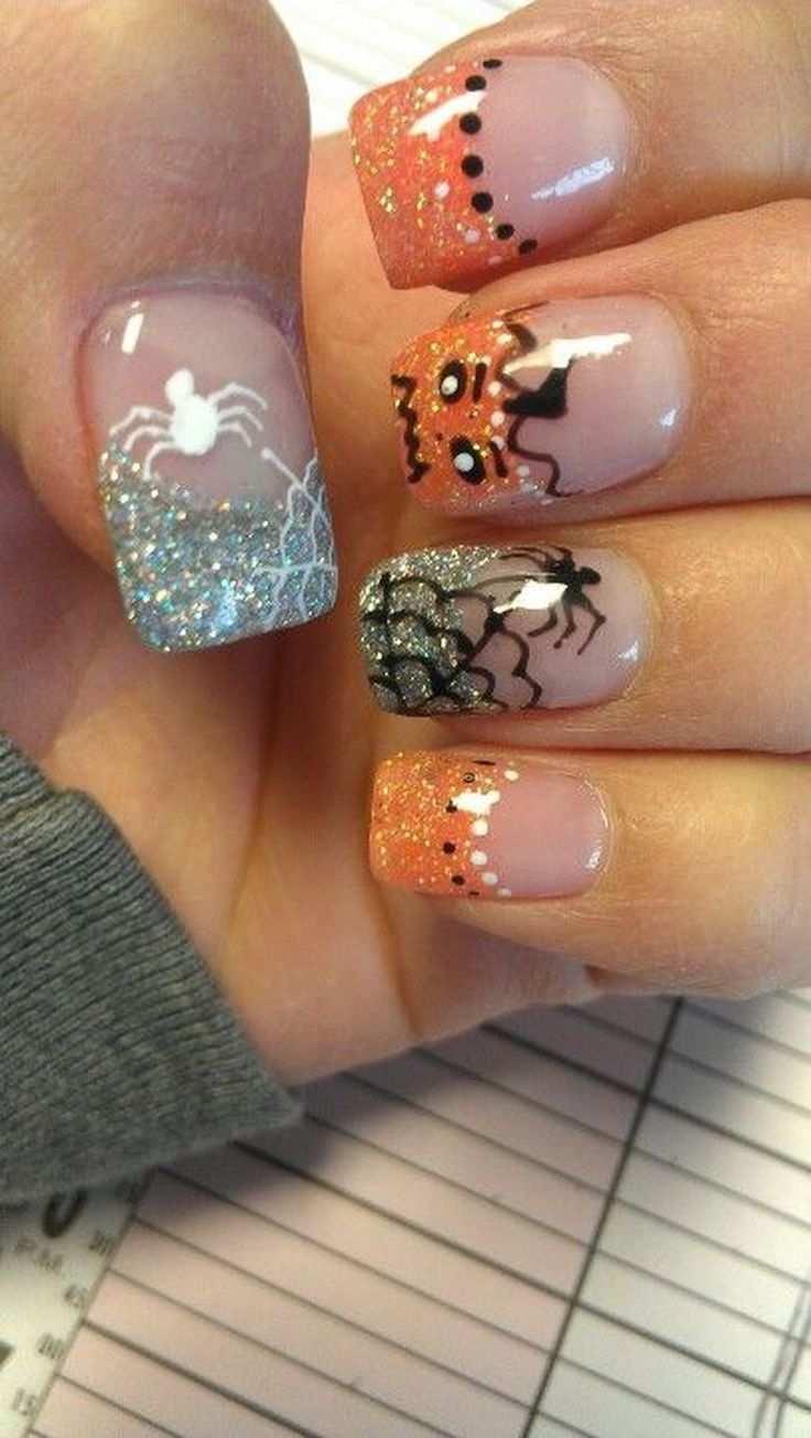Gruselige Aber Niedliche Halloween Nagel Kunst Entwurfs Ideen Die Sie 39 Lieben Nails Aber Die G Halloween Nageldesign Nagel Selbstgemacht Naildesign
