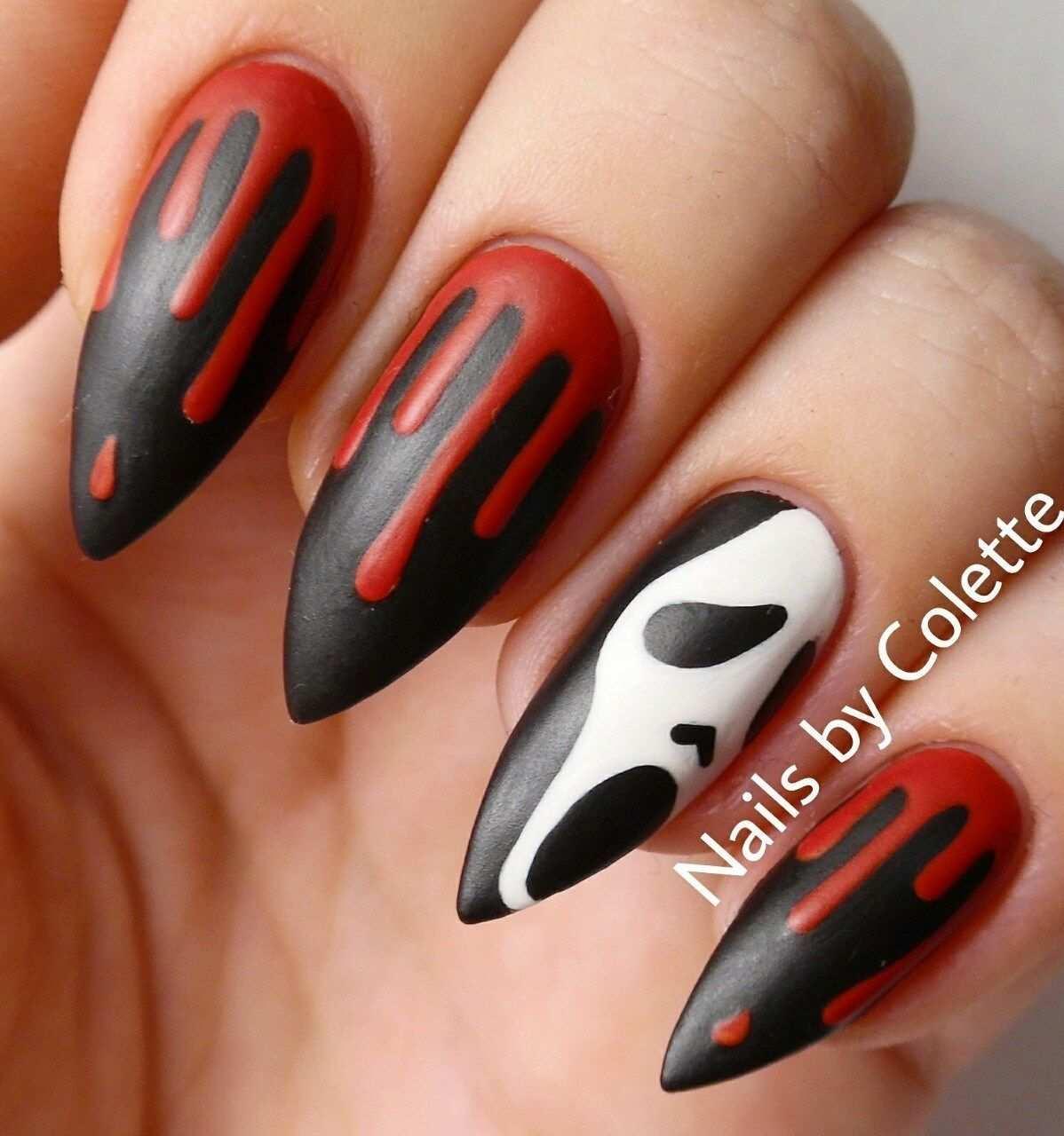 Great Nail Art Idea For Halloween Halloween Nails Diy Cute Halloween Nails Halloween Nail Designs