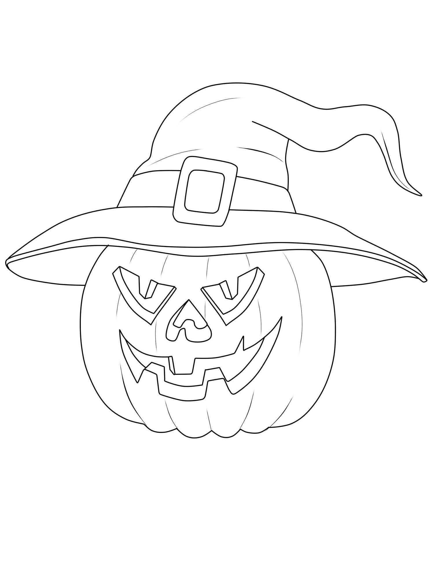 Halloween Hexe Malvorlage In 2020 Halloween Vorlagen Ausdrucken Halloween Ausmalbilder Malvorlagen Halloween