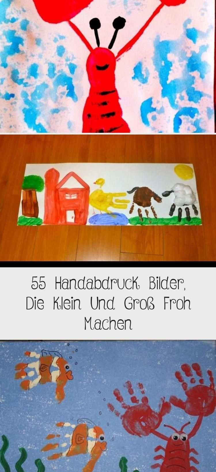 55 Handabdruck Bilder Die Klein Und Gross Froh Machen Winter In 2020 Winter Crafts For Kids Winter Kids Crafts For Kids