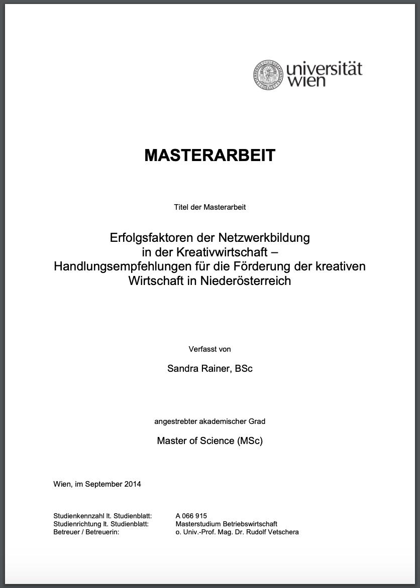 Bachelorarbeit Und Masterarbeit Beispiele Als Pdf