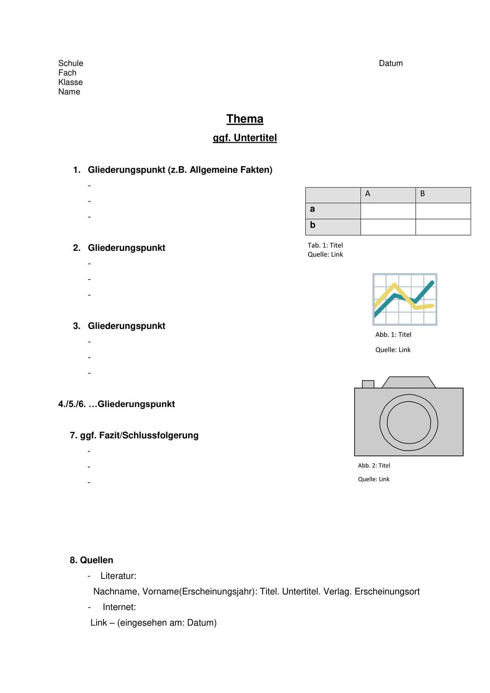 Muster Handout Unterrichtsmaterial In Den Fachern Deutsch Englisch Handout Unterrichtsmaterial Englischunterricht