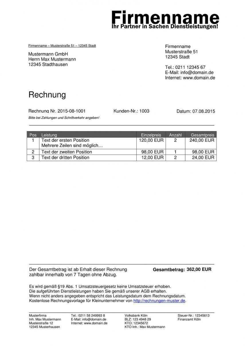 Scrollen Unsere Kostenlos Von Brennholz Rechnung Vorlage Rechnung Vorlage Rechnungsvorlage Vorlagen Word