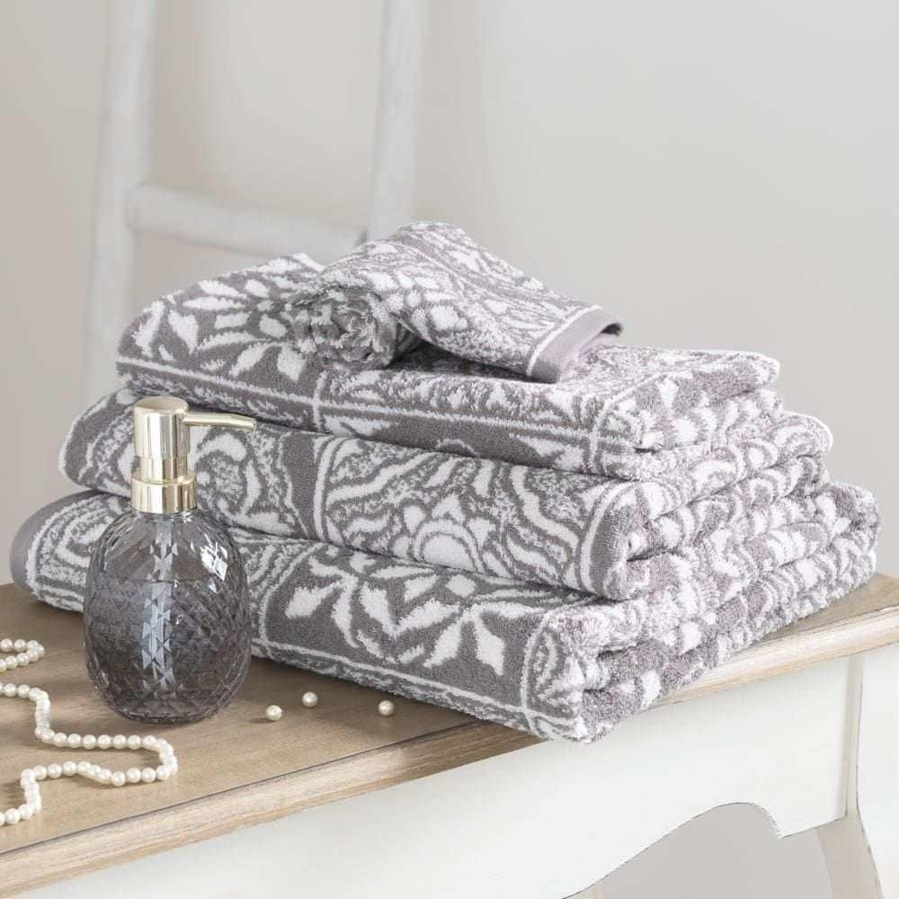 Badetucher Tuch Handtucher Zementfliesen