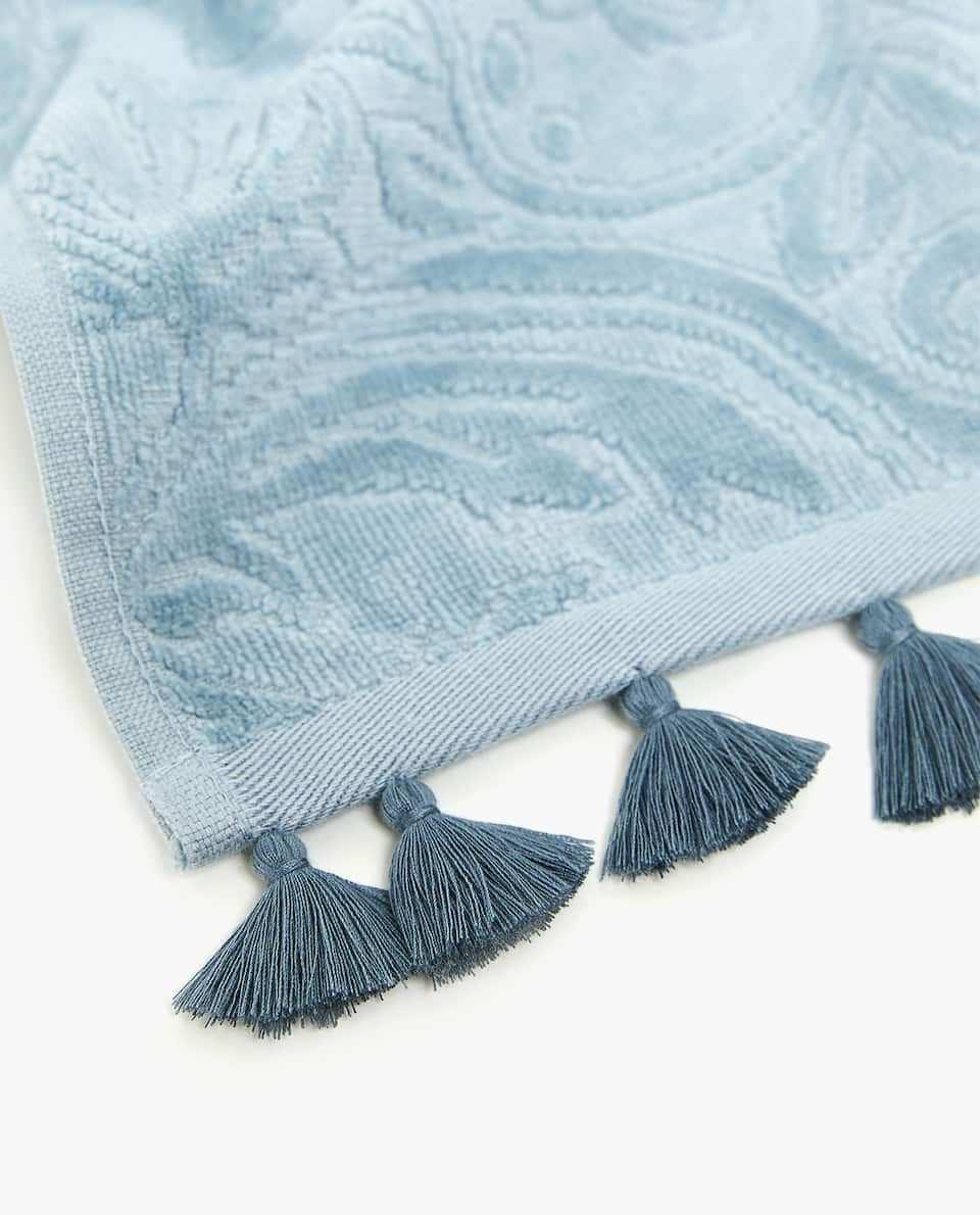 Bild 5 Des Produktes Handtuch Mit Troddeln Zara Home Tuch Handtucher
