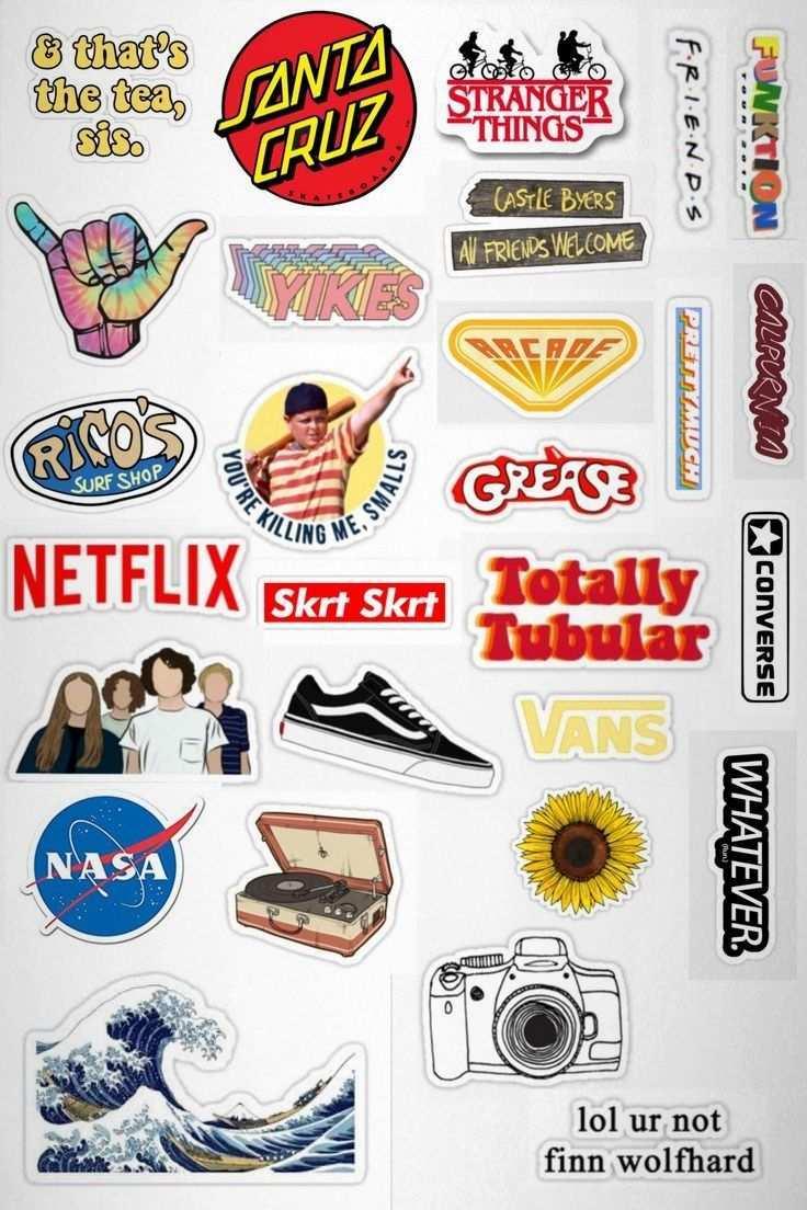 Atemberaubende Gfebus Pickerl Vorlage Aufkleber Sticker Drucken Tumblr Sticker
