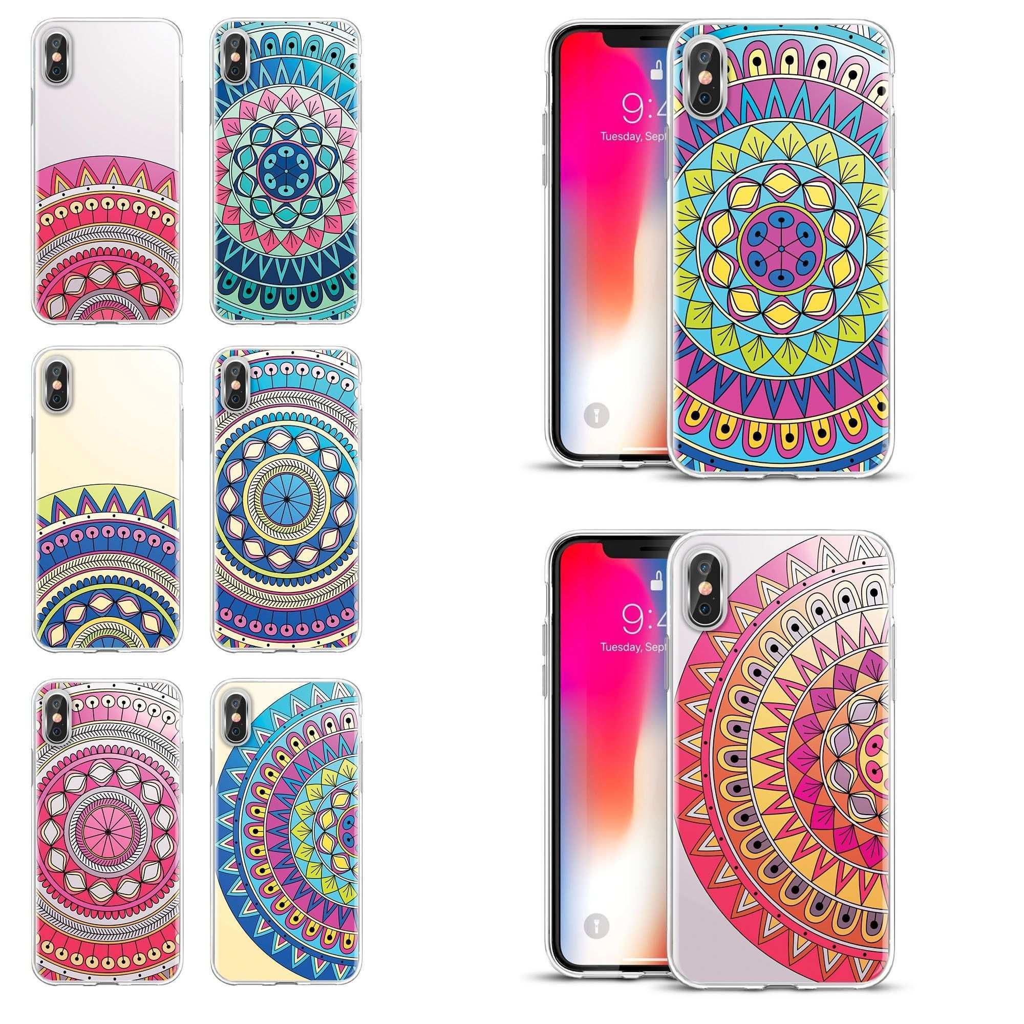 Eine Passende Handyhulle Zu Finden Ist Nicht Leicht Ob Bunt Suss Frech Romantisch Aufregend Abstrakt Cool Oder Nur Als Apple Iphone Mandala Design Iphone