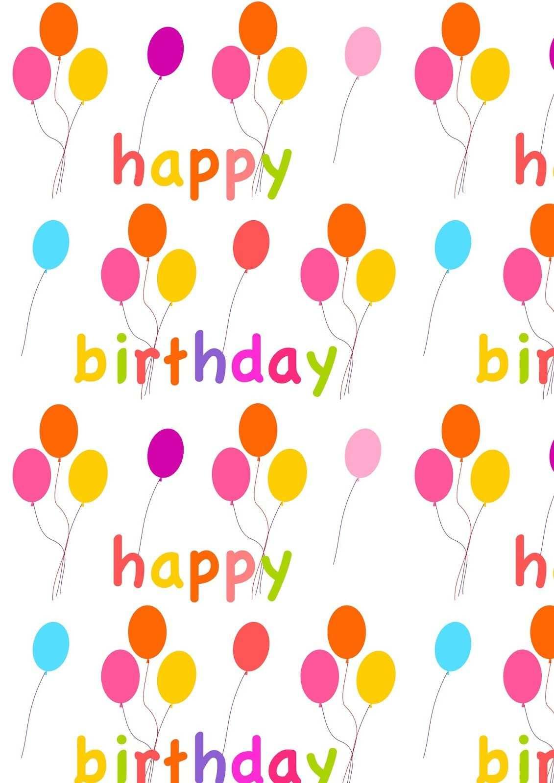 Free Digital Balloon Scrapbooking Paper Ausdruckbares Geschenkpapier Freebie Free Printable Planner Stickers Geburtstagskarte Vorlage Ideen Fur Geburtstagskarten