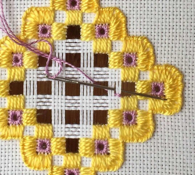 Hardanger Embroidery Mit Bildern Hardanger Stickerei Weben