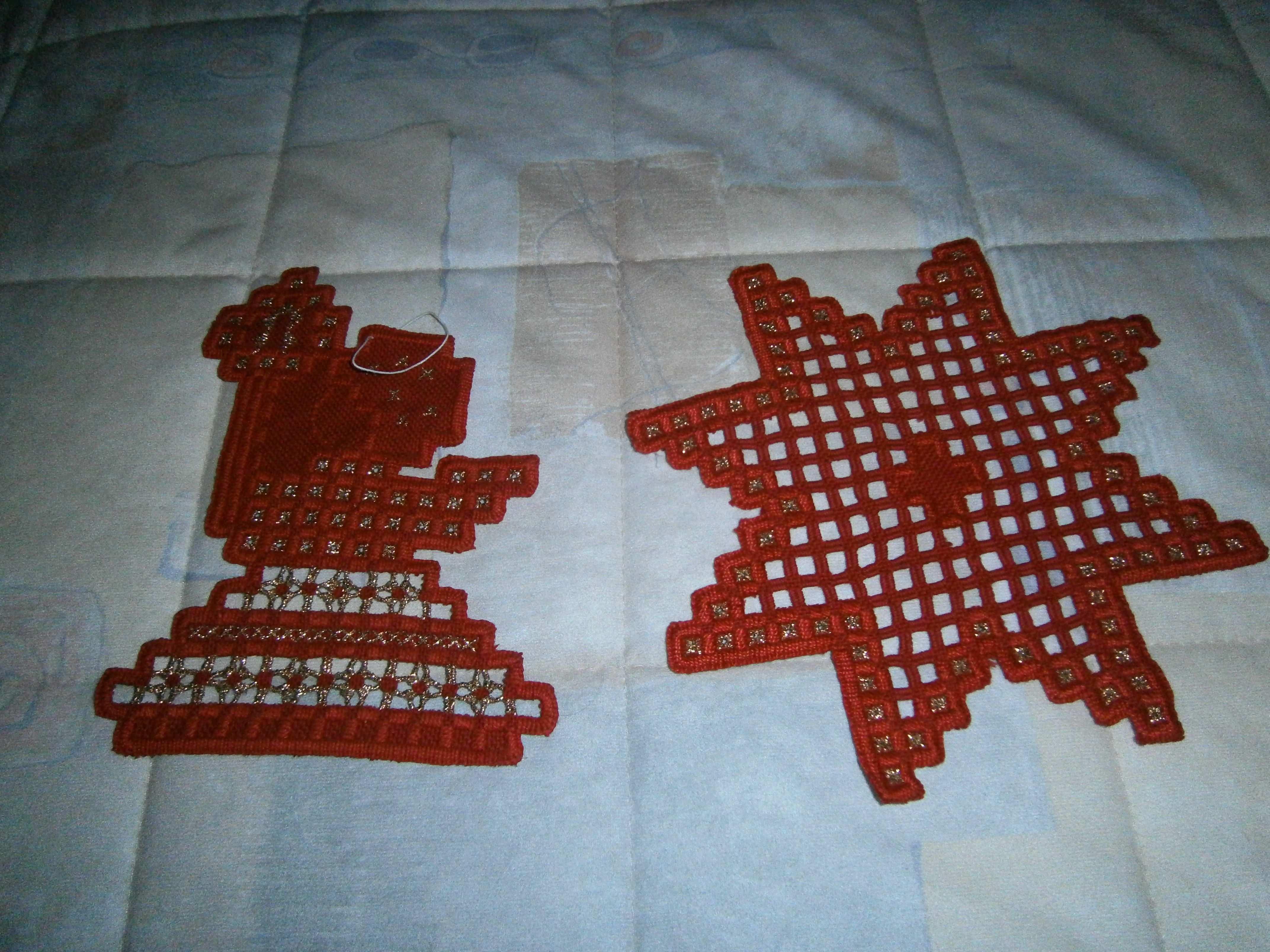 Hardanger Weihnachten Hardanger Weihnachten Handarbeit