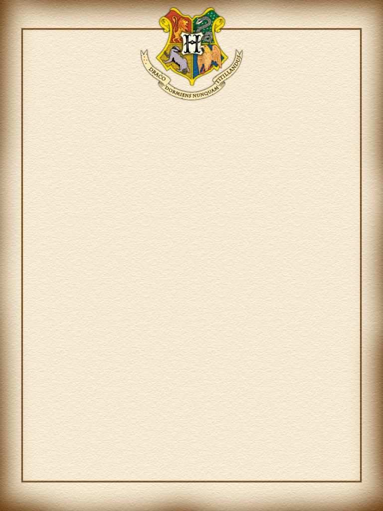 Journal Card Harry Potter Hogwarts Letter 3x4 Harry Potter Letter Harry Potter Hogwarts Letter Harry Potter Printables Free