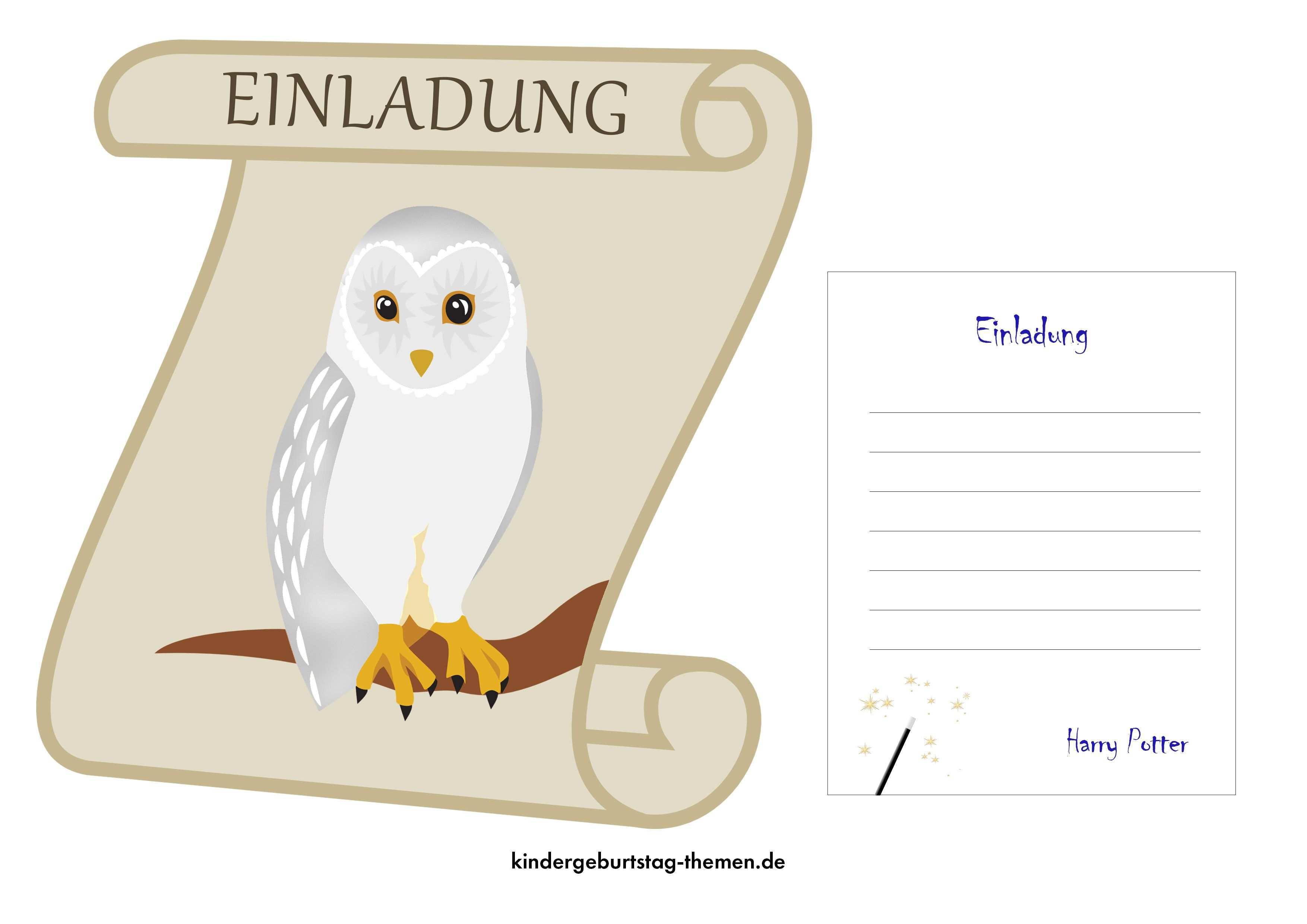 Harry Potter Einladung Free Printable Vorlagen Als Pdf Datei Einladungskarten Kindergeburtstag Kindergeburtstag Ausmalbilder Zum Ausdrucken Kostenlos