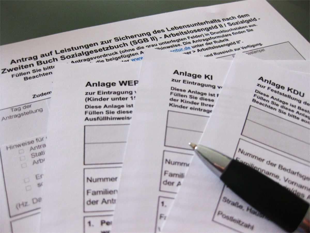 Hartz Iv 4 Antrag Formulare 2021 Vordrucke Alg 2