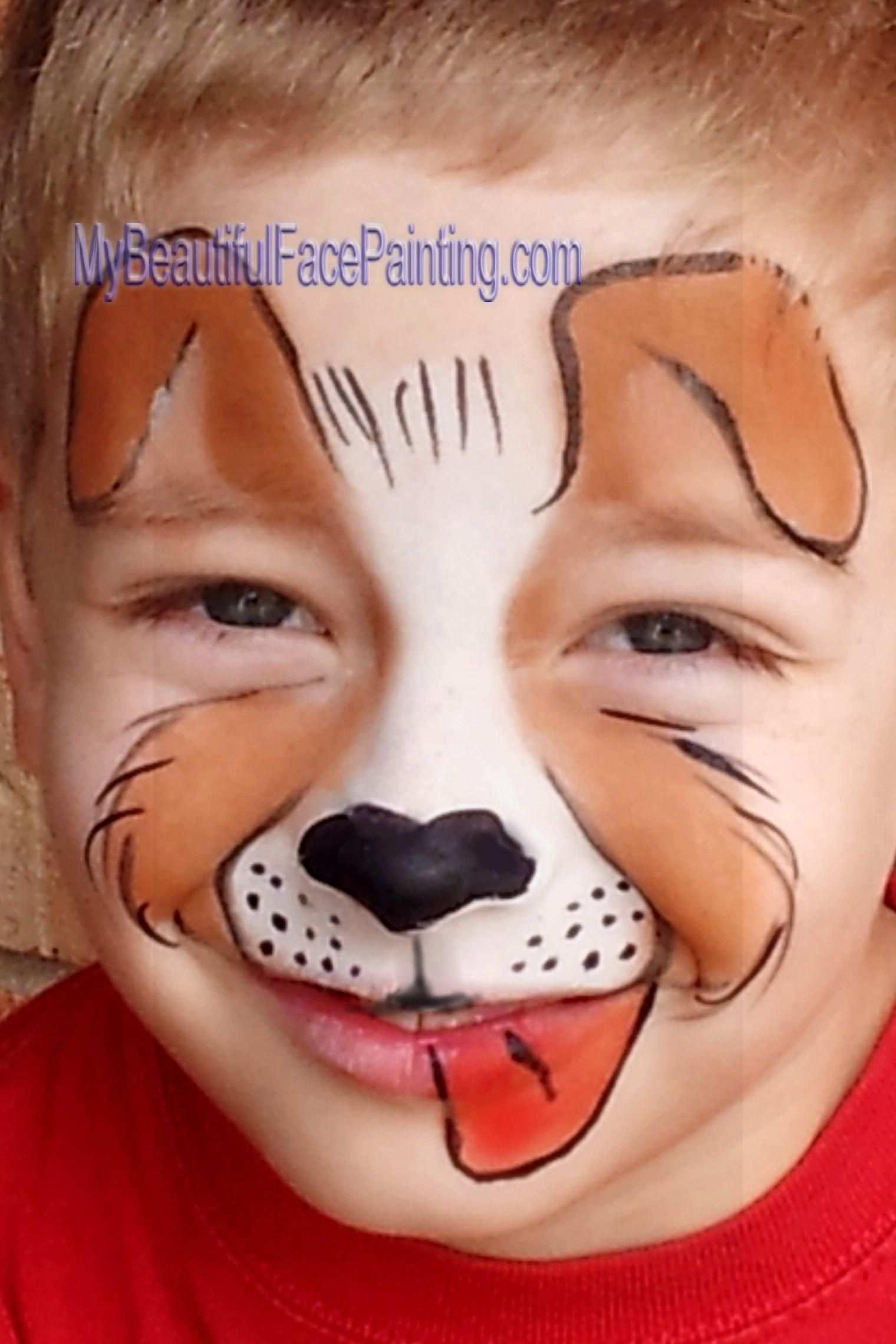 Spektakular Schminken Hund Vorlagen Aufenthalt Erstaunlich Und Vielen Dank Fur Carnaval Schminken In 2020 Kinder Schminken Kinderschminken Jungs Kinderschminken