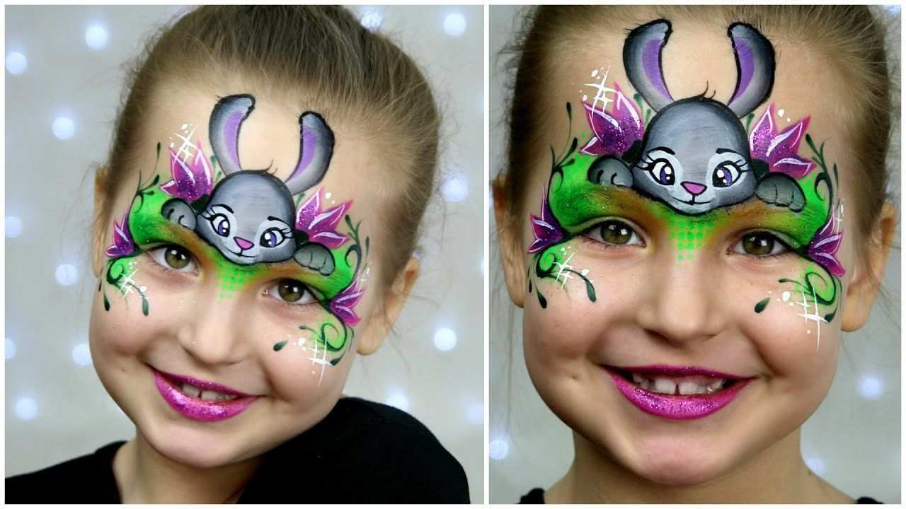Zootopia Bunny Make Up Fur Kinder Easter Face Painting Tutorial Zootopia Bunny Make Up Fur Ki In 2020 Schminkanleitung Bemalte Gesichter