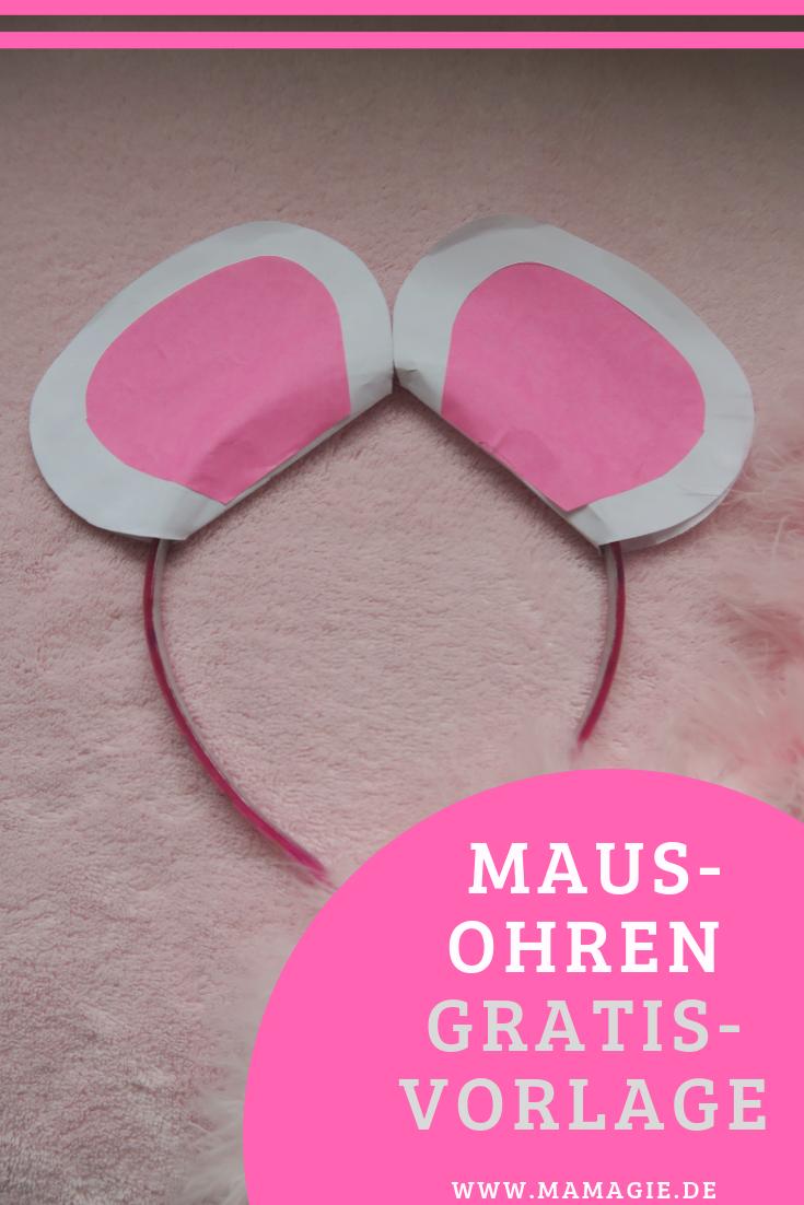Diy Dienstag Mause Und Hasenohren Zum Verkleiden Inkl Vorlage Bastelanleitungen Fur Kinder Hasenohren Und Maus Kostum