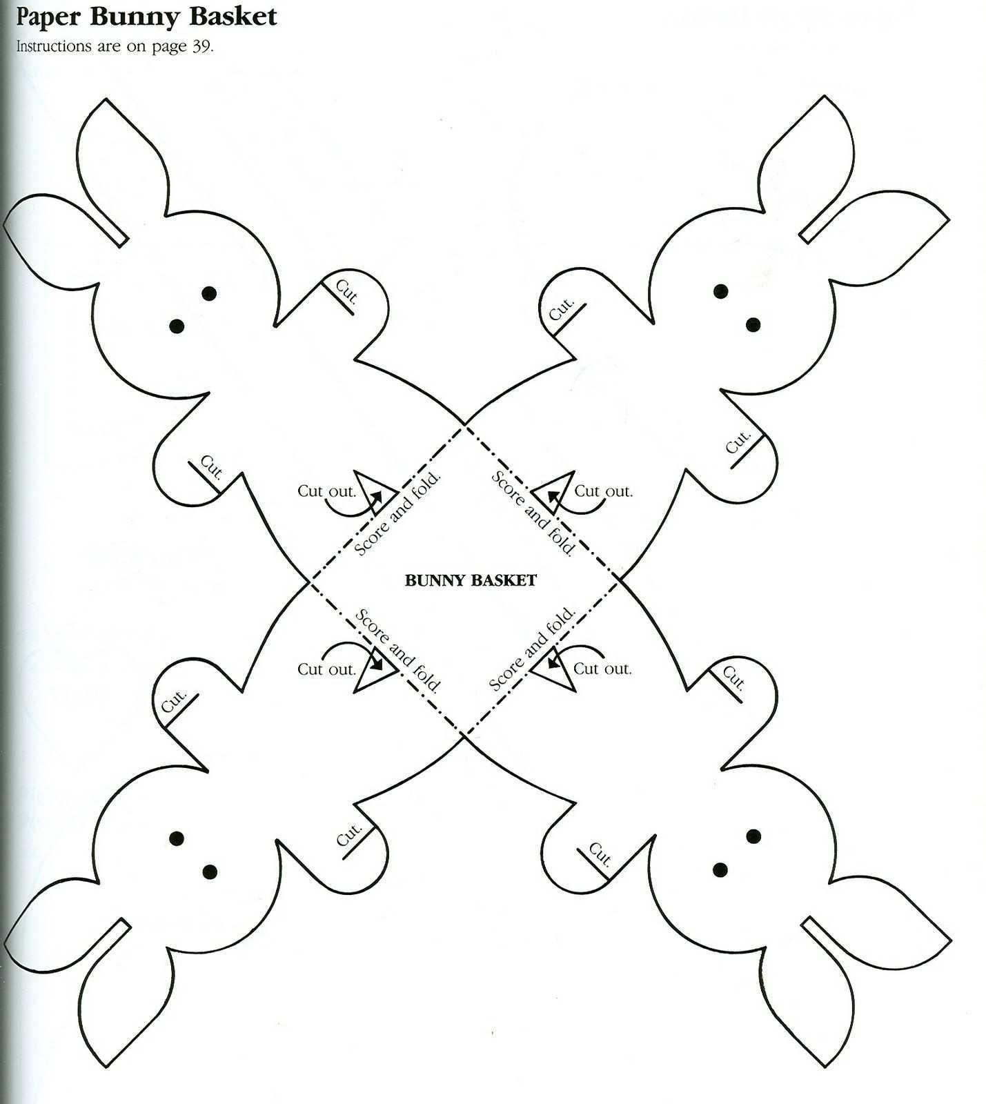 3 Bp Blogspot Com V7q7b0xifo8 Taitrhpwy0i Aaaaaaaaaho 3gbfkgvchjs S1600 Paper Bunny Basket Jpg Bastelvorlagen Ostern Basteln Ideen Ostern Osternest Basteln