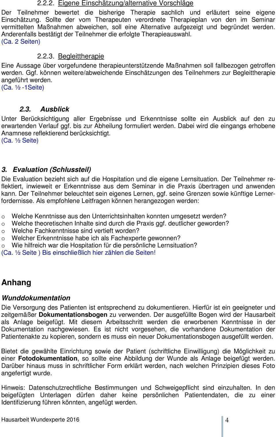 Deckblatt Hausarbeit Wundexperte Icw Pdf Kostenfreier Download
