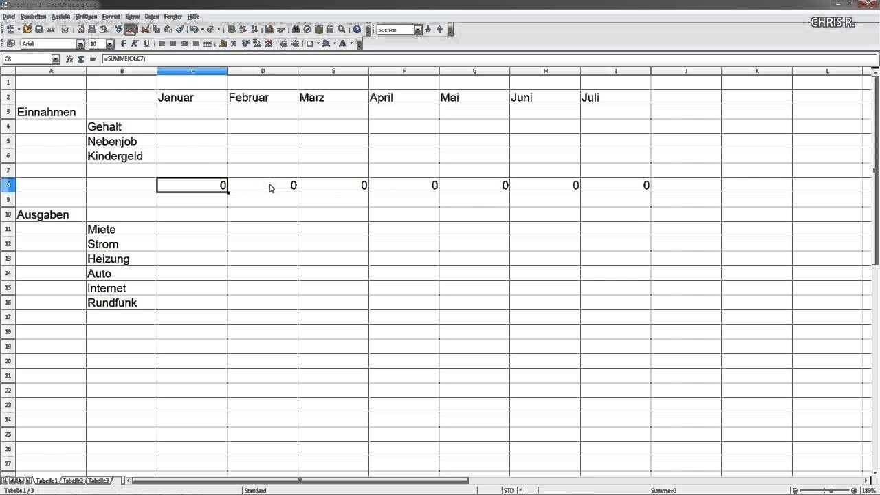 Hier Zeige Ich Euch Anhand Von Einem Kleinen Beispiel Wie Ihr Ganz Leicht Eurer Eigenes Haushaltsbuch E Mit Bildern Haushaltsbuch Vorlage Haushaltsbuch Haushaltsbuch Excel