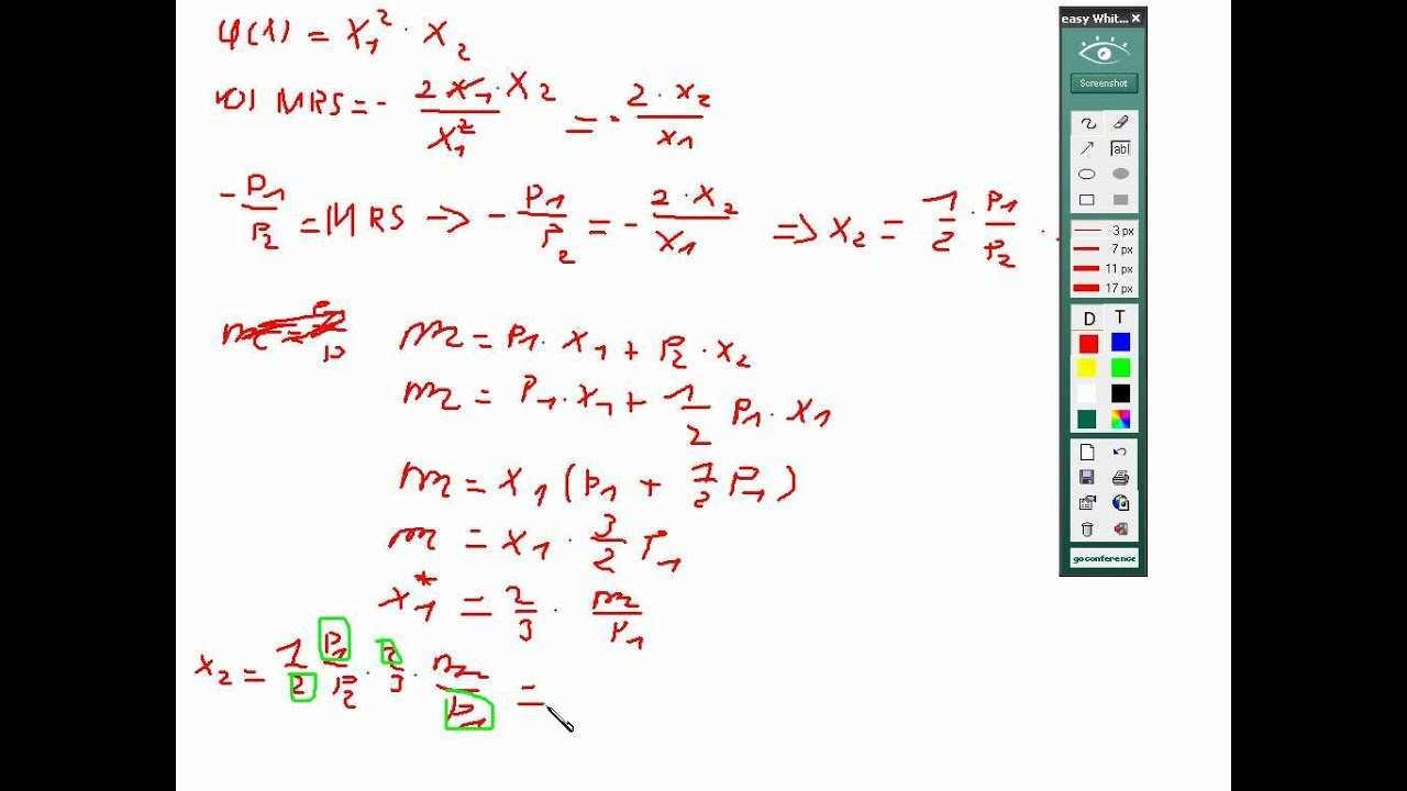 9 1 Meine Aufgaben Optimum Mikrookonomie Nutzenfunktion Youtube