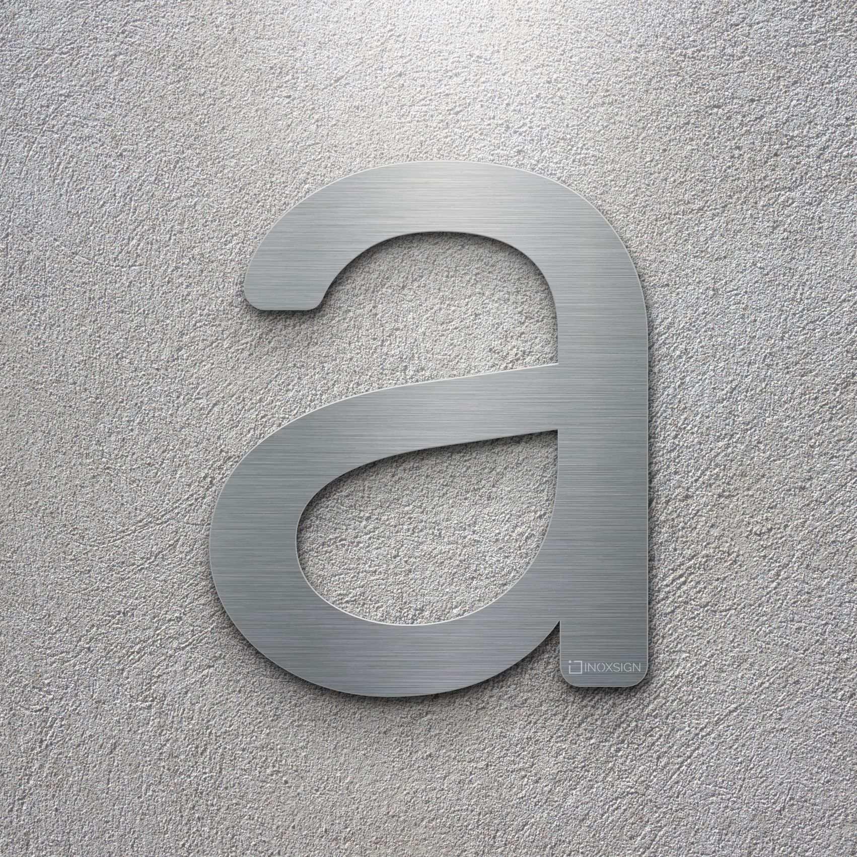 Neu Inoxsign Klasische Edelstahl Hausnummer A Moderne Hausnummern Aus Edelstahl Geburstet Design Hausnum Hausnummern Moderne Hausnummernschild Hausnummern